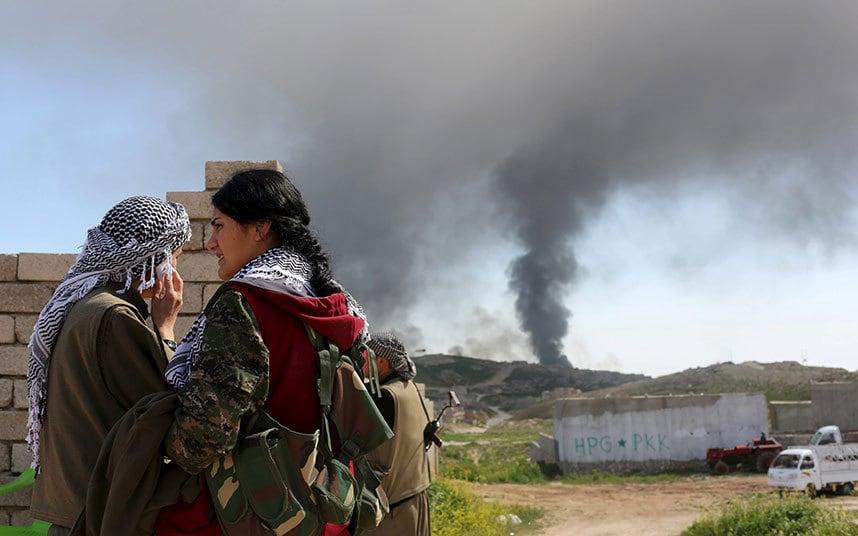 Türk Jetleri Kuzey Irak'da Terör Yuvalarını aralıksız bombalıyor