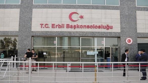 Kuzey Irak Erbil kentinde silahlı saldırıda Türkiye'nin Erbil Başkonsolosluğunda görevli bir kişi hayatını kaybetti.